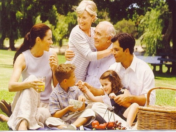 В окружении родных и близких депрессия не страшна
