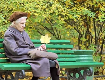 Преклонный возраст – одна из причин депрессии