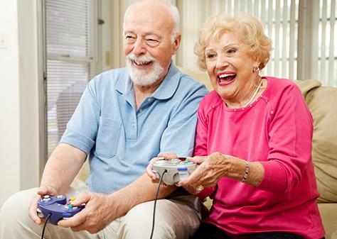 Видео игры полезны пенсионерам