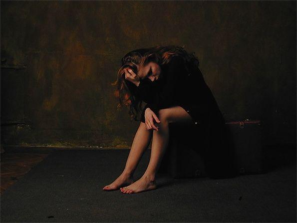 Депрессия истерика