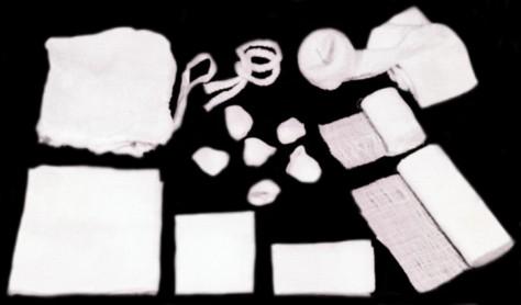 Перевязочные материалы в аптечке