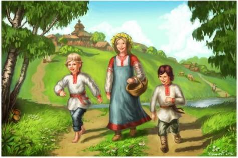 Ведические традиции в воспитании детей