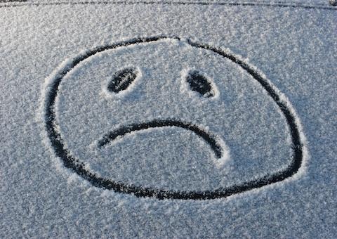 Зимой не мудрено стать жертвой депрессии