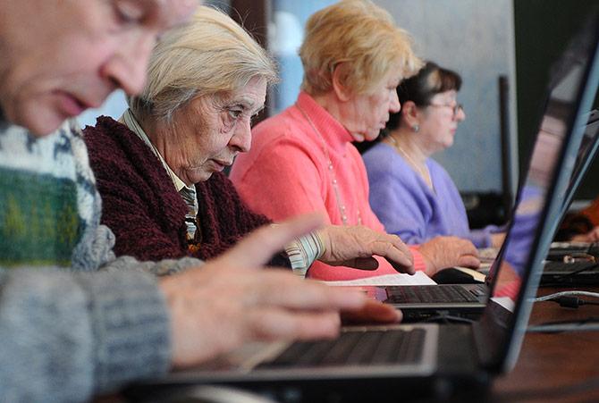 Депрессию людей в возрасте побеждает всемирная сеть