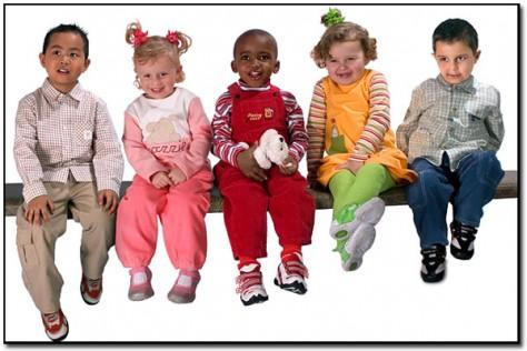Покупка красивых вещей для малышей