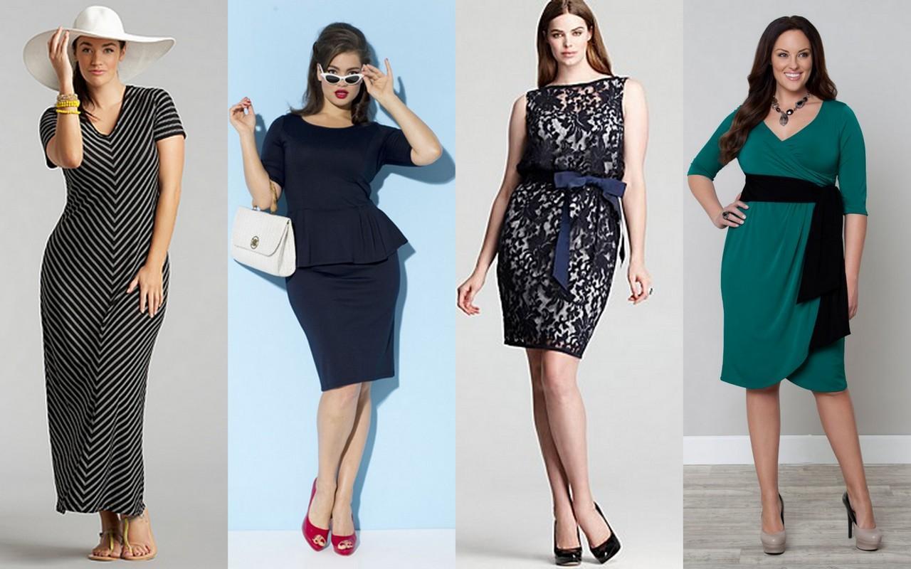 Модели сезона 2014 для полных дам