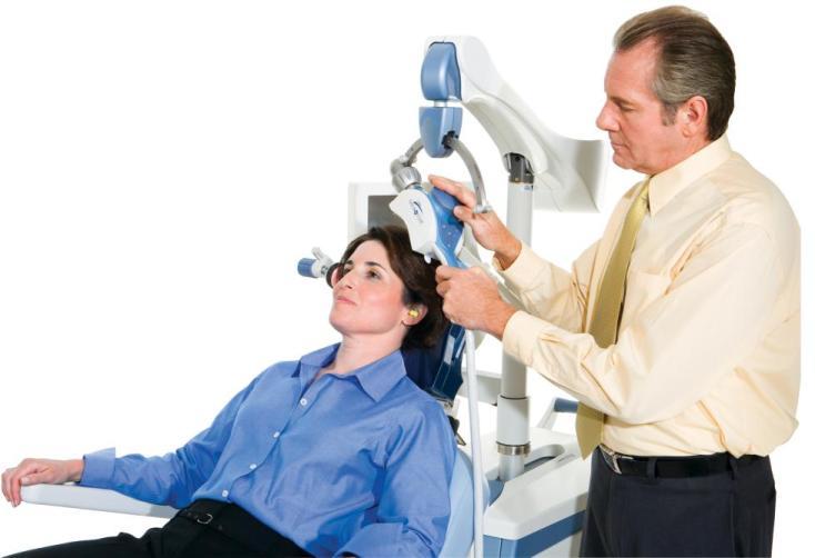 Магнитная стимуляция мозга эффективней таблеток при депрессии