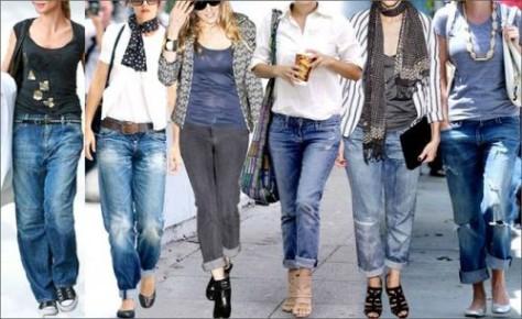 Какую обувь одеть под джинсы