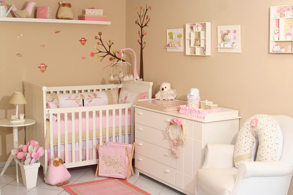 Дизайн интерьера для новорожденного
