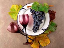 Виноград и вино избавляют от депрессии