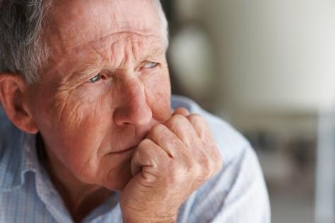 У пожилых людей чаще бывает депрессия
