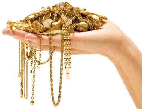 Золотые ювелирные изделия могут вызывать депрессию