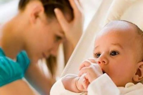 Депрессия матери сказывается на психике ребенка