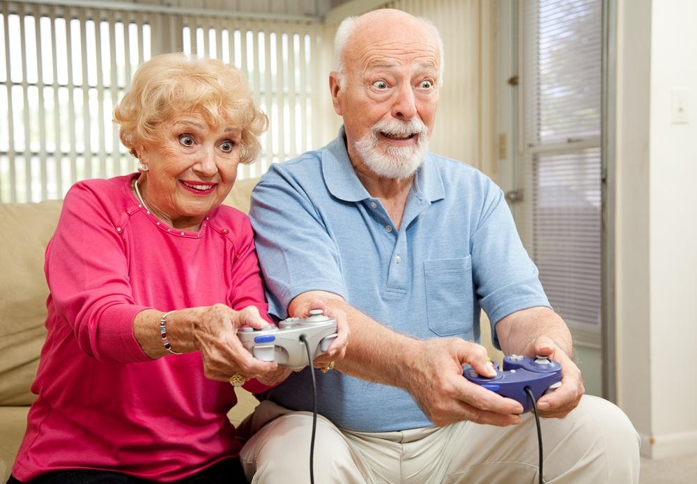 Компьютерные игры помогут пожилым людям избавиться от депрессии
