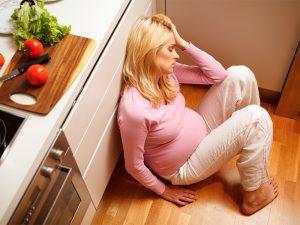 От 14 до 23 процентов женщин страдают депрессией во время беременности