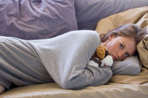 Дефицит калия может вызвать угри, бессонницу и депрессию