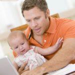 Молодые отцы могут испытывать послеродовую депрессию