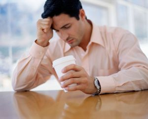 Мужчины более склонны впадать в депрессию после развода