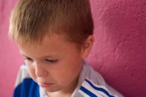 Удар головы может вызвать у ребенка депрессию