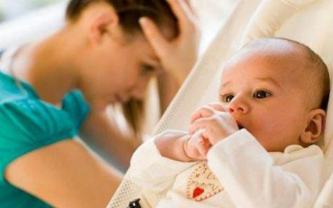 Послеродовая депрессия делает детей низкорослыми