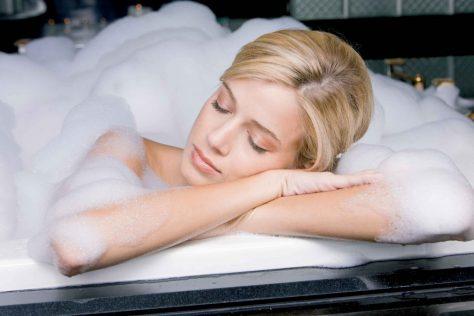 Теплая ванна предупредит депрессию