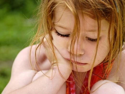Депрессией страдают даже дети