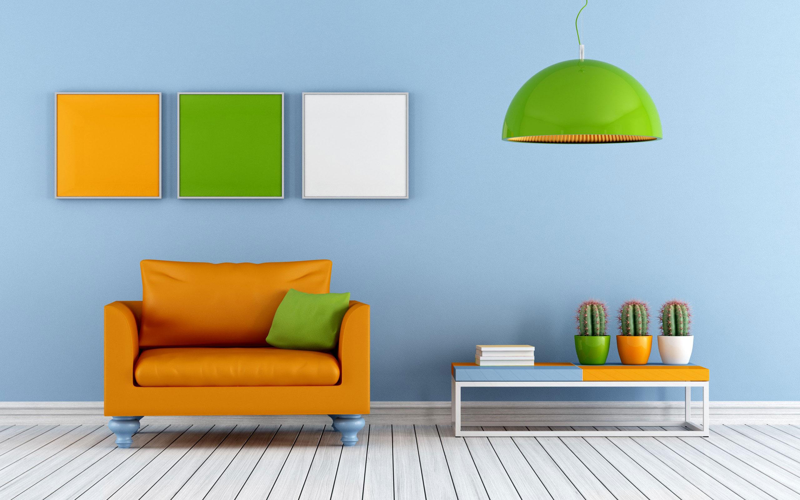 Создание необычайно ярких поверхностей в каждом помещении, основные тренды дизайна квартир в 2017 году.