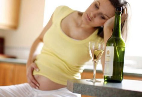 Употребление алкоголя во время беременности повышает риск возникновения депрессии у ребенка