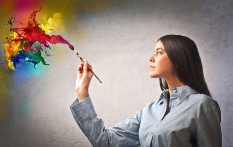 Женщинам полезнее заниматься творчеством, а мужчинам — наблюдать за процессом