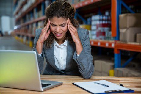 Стресс для женщин так же вреден, как жирная пища