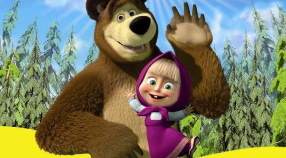 Мультфильм «Маша и медведь» считают опасным для психики