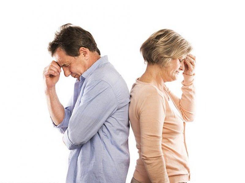 Отсутствие внимания сокращает жизнь супругов