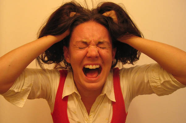 Стресс может изуродовать женщину